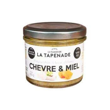 Produit tapenage chèvre miel