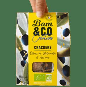 Produit Bam&co crackers